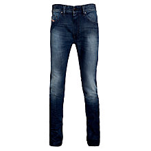 Buy Diesel Thavar 0814A Skinny Jeans, Denim Online at johnlewis.com