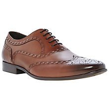Buy Dune Acoustic Tan Oxford Brogues, Tan Online at johnlewis.com