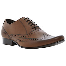 Buy Dune Ricochet Wingtip Brogues, Tan Online at johnlewis.com