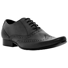 Buy Dune Ricochet Wingtip Oxford Shoes, Black Online at johnlewis.com