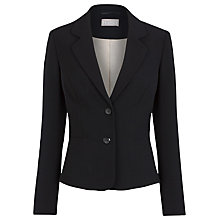 Buy Planet Short Button Jacket, Black Online at johnlewis.com