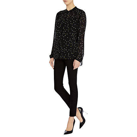 Buy Coast Zebby Blouse, Multi Online at johnlewis.com