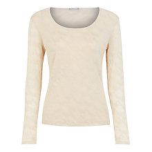 Buy Planet Mesh Embroidered Top Online at johnlewis.com