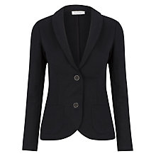 Buy Kaliko Jersey Blazer, Black Online at johnlewis.com