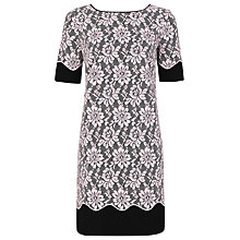 Buy Kaliko Lace Tunic Shift Dress, Pink Online at johnlewis.com