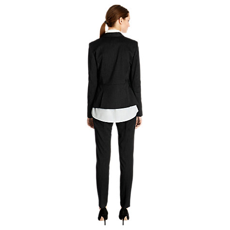 Buy Warehouse Pinstripe Jacket, Grey Stripe Online at johnlewis.com