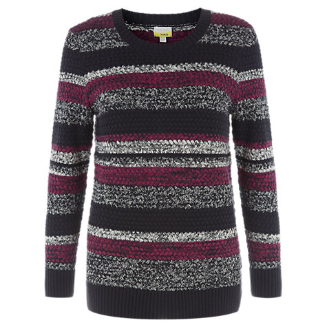 Buy NW3 by Hobbs Songline Jumper, Navy Online at johnlewis.com