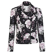 Buy Kaliko Lydia Printed Biker Jacket, Multi Online at johnlewis.com