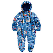Buy Baby Joule Charlie London Snowsuit, Blue/Multi Online at johnlewis.com
