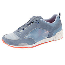 Buy DKNY Jeri Mesh Trainers, Blue / Grey Online at johnlewis.com