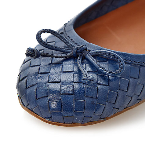 Buy Bertie Medorra Leather Ballerinas Online at johnlewis.com