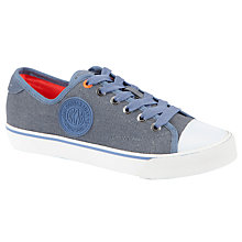 Buy DKNY Barbara Canvas Plimsolls Online at johnlewis.com