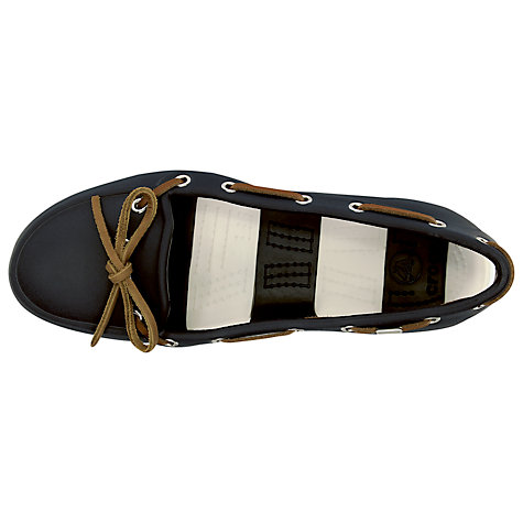 Buy Crocs Beach Line Boat Shoes Online at johnlewis.com