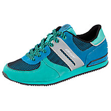 Buy DKNY Jennifer Suede Mesh Trainers, Turqouise Online at johnlewis.com