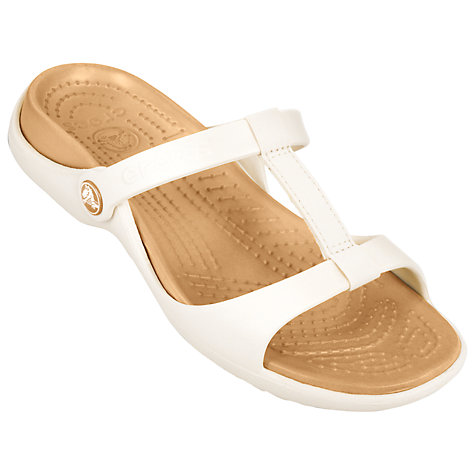 Buy Crocs Cleo T-Bar Sandals Online at johnlewis.com
