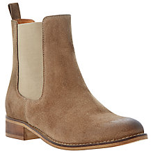 Buy Bertie Pearson Suede Burnished Toe Chelsea Boots Online at johnlewis.com