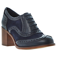 Buy Bertie Amoy Block Heel Lace-Up Brogues Online at johnlewis.com