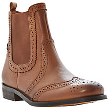 Buy Bertie Poppi Leather Brogue Chelsea Boots Online at johnlewis.com