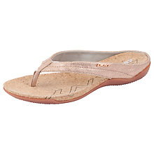 Buy DKNY Sarasota Suede Sandals, Gold Online at johnlewis.com