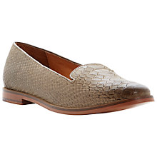 Buy Bertie Lampo Snake Print Leather Slipper Shoes Online at johnlewis.com