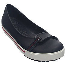 Buy Crocs Crocband Women's Slip-On Loafers, Navy Online at johnlewis.com