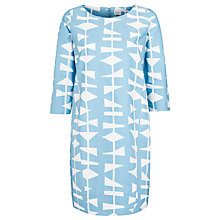 Buy Lucienne Day 1954 Cocoon Dress, Blue Online at johnlewis.com