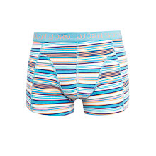 Buy Bjorn Borg Relaxed Stripe Trunks, Blue Online at johnlewis.com