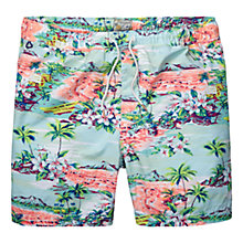 Buy Scotch & Soda Hawaii Swim Shorts. Pink/Green Online at johnlewis.com