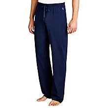 Buy Polo Ralph Lauren Basic Jersey Lounge Pants, Navy Online at johnlewis.com