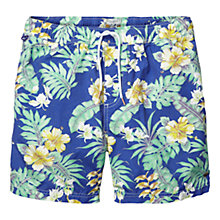 Buy Scotch & Soda Hawaii Swim Shorts, Blue Online at johnlewis.com