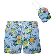 Buy Scotch & Soda Pineapple Swim Shorts, Blue Online at johnlewis.com
