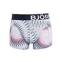 Buy Bjorn Borg Take A Trip Trunks, Grey Online at johnlewis.com
