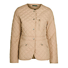 Buy Lauren by Ralph Lauren Della Jacket, Racing Khaki Online at johnlewis.com