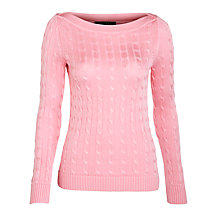 Buy Lauren by Ralph Lauren Dudina Jumper Online at johnlewis.com