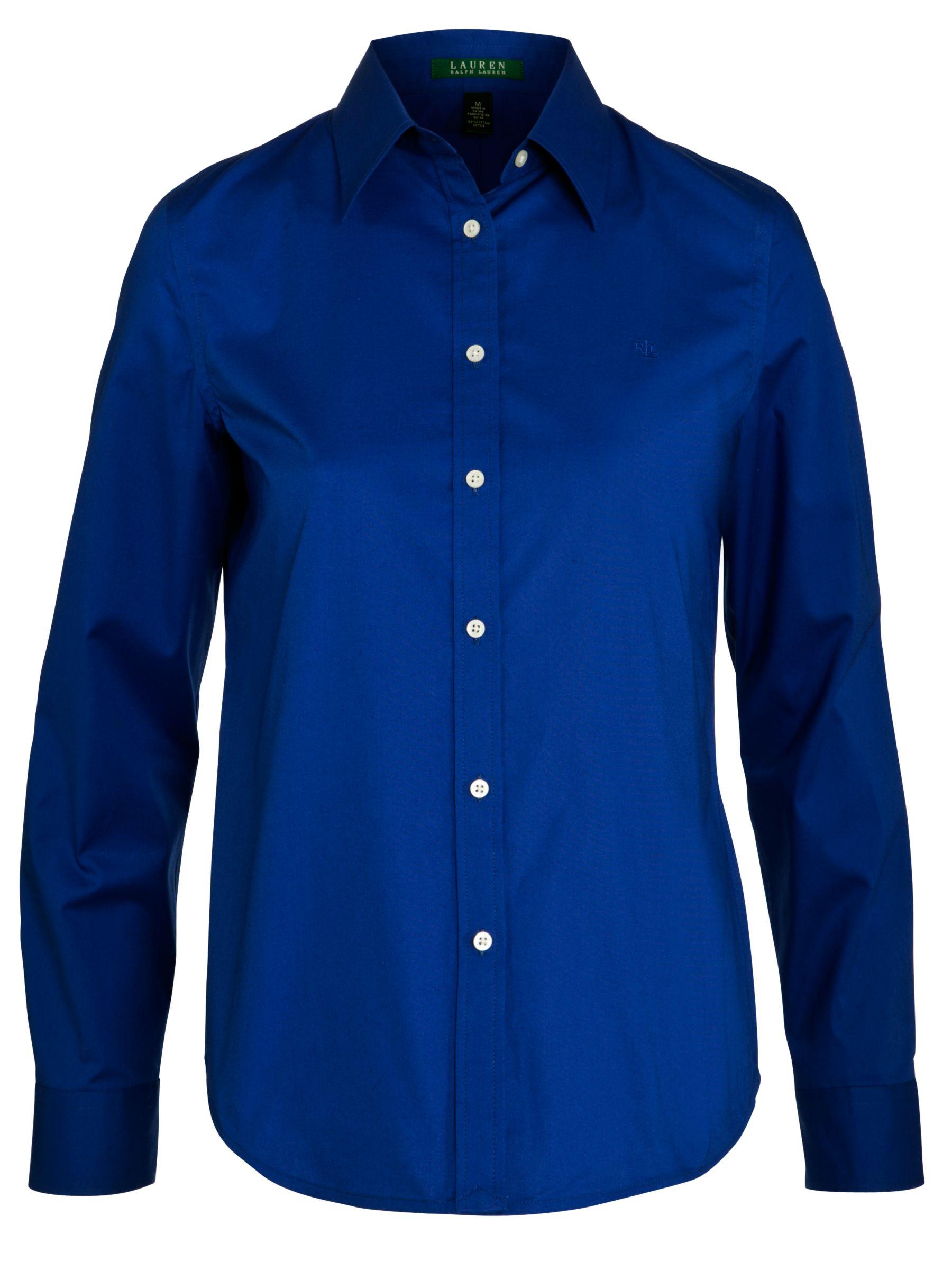 Lauren by Ralph Lauren Jamir Shirt, Cobalt