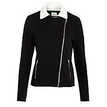 Buy Lauren by Ralph Lauren Bingsly Jacket, Black/Pearl Online at johnlewis.com