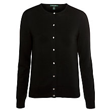 Buy Lauren by Ralph Lauren Cardigan, Black Online at johnlewis.com
