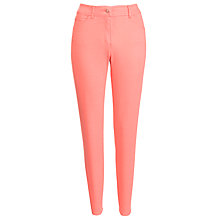 Buy Gerry Weber Straight Leg Jean, Coral Online at johnlewis.com