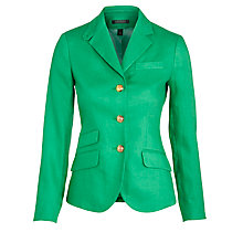 Buy Lauren by Ralph Lauren Ansford Jacket, Ribbon Green Online at johnlewis.com