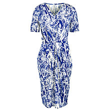 Buy People Tree Agnes Tree Print Dress, Blue Online at johnlewis.com