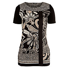 Buy Gerry Weber Print Tunic Top, Multi Online at johnlewis.com