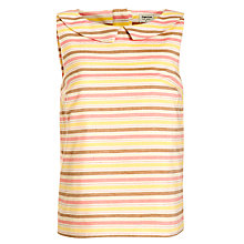 Buy People Tree Ivy Stripe Shell Top, Multi Online at johnlewis.com