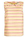 People Tree Ivy Stripe Shell Top, Multi
