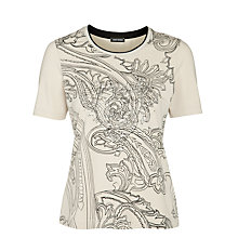 Buy Gerry Weber Studded T-Shirt, Biscuit Online at johnlewis.com
