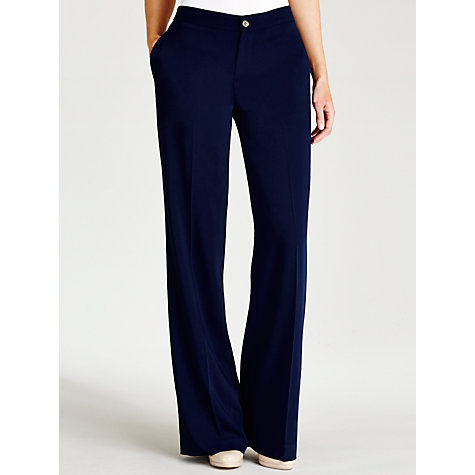 Buy Lauren by Ralph Lauren Lapronda Trouser, Capri Navy Online at johnlewis.com