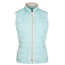 Buy Gerry Weber Lightly Padded Gilet, Aqua Online at johnlewis.com