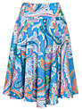 Lauren by Ralph Lauren Ria Skirt, Blue Multi