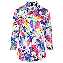 Buy Lauren by Ralph Lauren Priya Shirt, White Multi Online at johnlewis.com