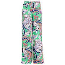Buy Lauren by Ralph Lauren Nardone Trouser, Multi Green Online at johnlewis.com