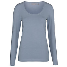 Buy Sandwich Scoop Jersey Top, Tender Blue Online at johnlewis.com